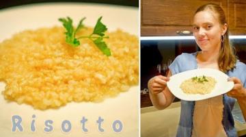 Блюдо из Италии в твоей тарелке! Быстрый рецепт РИЗОТТО (Risotto) с пармезаном