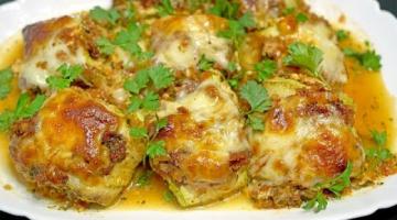 Блюдо из любимых кабачков! РУЛЕТЫ ИЗ КАБАЧКОВ с потрясающей начинкой