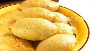 Быстрые пирожки в духовке / Картофельно-творожное тесто