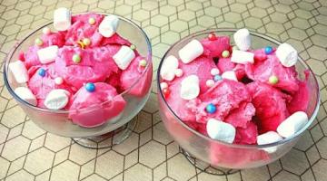Домашнее Мороженое из Маршмеллоу! Невероятно молочный вкус!