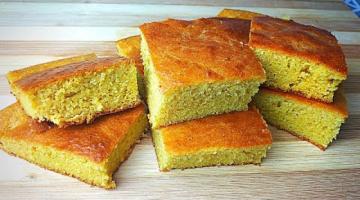 Домашний Хлеб из кукурузной муки в духовке! Без дрожжей! Самый Простой Рецепт Хлеба!