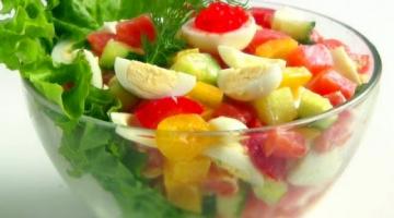 Два праздничных салата за 10 минут / Салат с рыбой и овощами без майонеза