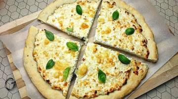 Итальянская Пицца с Рикоттой! Максимально Много Сыра!