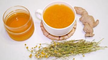 Как приготовить ИМБИРНЫЙ ЧАЙ? Вкусный и Полезный имбирный чай с лимоном и ромашкой (рецепт)