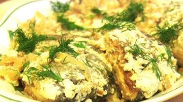 Караси в сметане : Рецепты из рыбы