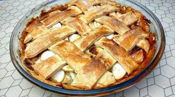 Мало Теста, Много Начинки / Вкуснейший Яблочный Пирог по Классическому Рецепту