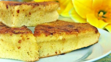 МАННИК на молоке : Пирог  из манки