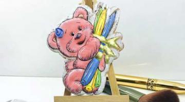 Мастер-класс МК пряник на последний звонок/ 1 сентября / День учителя