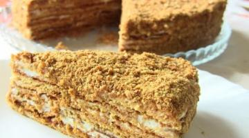 МЕДОВИК /САМЫЙ ПРОСТОЙ РЕЦЕПТ  очень вкусного торта.