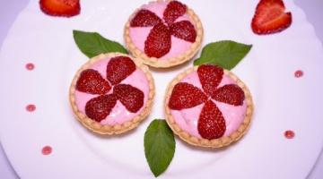 МЕГА КЛУБНИЧНЫЙ ДЕСЕРТ за 10 минут! ТАРТАЛЕТКИ с ягодами (клубника)
