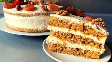 Морковный Торт ✦ Крем Пломбир На Сметане ✦ Carrot Cake // Кулинарим с Викторией