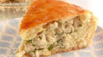 Мясной Пирог с Нежным Соусом / Тесто дрожжевое на сметане