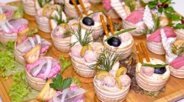 НАЧИНКИ для ТАРТАЛЕТОК на Праздничный стол ☆ Тарталетки с начинкой - сразу 5 РЕЦЕПТОВ (из рыбы)