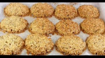 НОВОЕ Хрустящее Овсяное Печенье с семечками!