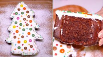 Новогодний ТОРТ ЕЛОЧКА - простой рецепт ВКУСНОГО праздничного торта | Новый год 2020