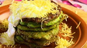 ОЛАДЬИ  из брокколи с сыром
