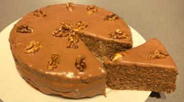 Ореховый торт | Торт с орехами и сгущёнкой | Самый вкусный торт