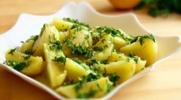 ОСВЕЖАЮЩАЯ Картошечка с Лимоном!!!