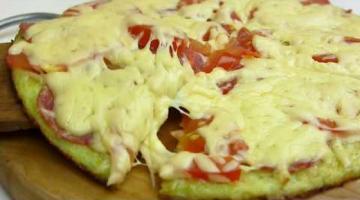 Пицца НА СКОВОРОДЕ за 10 минут! Пицца из кабачков!