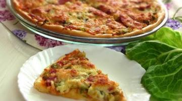 Пицца с Капустой Пробовали Очень ВКуСно!