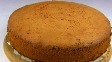 Пирог Нежнейший,Тает На Губах / Влажный Апельсиновый Бисквит