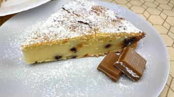 Пирог с Рикоттой и Шоколадными Каплями / Итальянский Рецепт