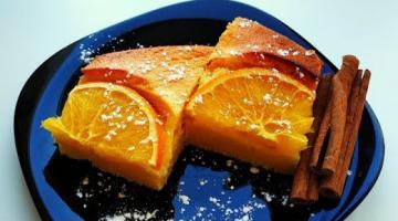 Попробуйте этот прекрасный манник! С апельсином!