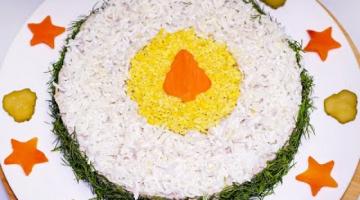 Праздничный САЛАТ С ЯЗЫКОМ на Новый Год ☆  Вкусный и сытный Новогодний РЕЦЕПТ салата