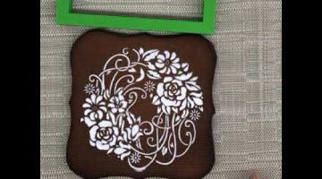 Простое украшение имбирных пряников глазурью/ Рецепт глазури/Как использовать трафареты для пряников