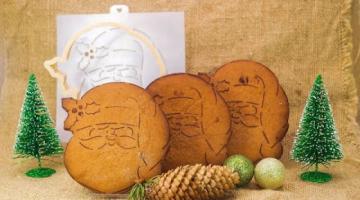 Простой Пряник Дед Мороз / как перенести рисунок или картинку на новогодний  имбирный пряник