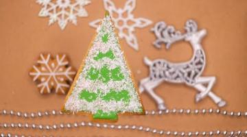 Пряник елка  ЕЛОЧКА новогодняя ПРОСТОЕ украшение