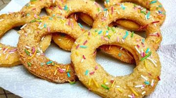Сахарные колечки! Волшебное печенье к праздничному чаепитию!
