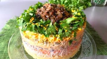 Салат с грибами  🥗 ОБАЛДЕННЫЙ Салат с Грибами Шампиньонами !