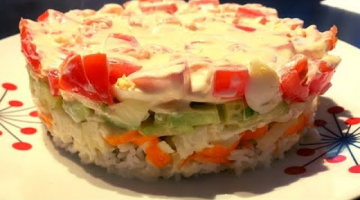 Салат с Крабовыми Палочками ?Быстрый Салат. Крабовый салат Без кукурузы