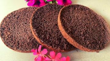 ШОКОЛАДНЫЙ БИСКВИТ ?Шоколадный Бисквит для Торта ? РЕЦЕПТ БИСКВИТА