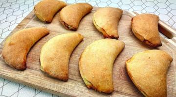 Сладкие Пирожки с Творогом и Мятой! Вкусная выпечка в духовке! Рецепт на скорую руку!