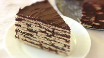 ТОРТ без выпечки / Самый простой Торт из печенья