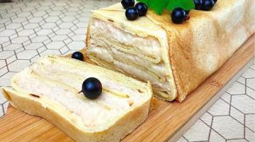Торт из Блинов с Яблоками