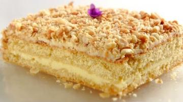 """Торт """"Подарочный"""" / Простой и очень вкусный бисквитный торт"""