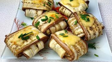 Вкусно готовим баклажаны в духовке