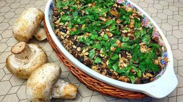 Вкусные Шампиньоны с Овсянкой и Картофелем!