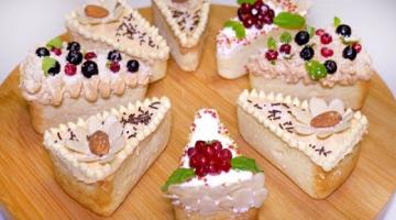 Вкусный ДЕСЕРТ на Новый Год ☆ НА МАНКЕ Без разрыхлителя! Нежная Новогодняя выпечка