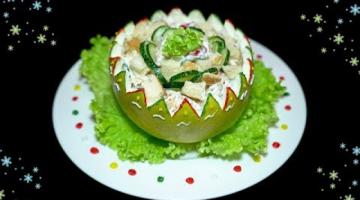 Яркий САЛАТ с помело и куриным мясом | Рецепт чудо-салата для праздников