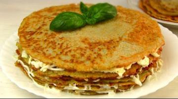 Закусочный Торт / холодная закуска из дерунов
