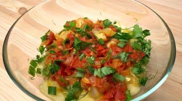 Запечённые кабачки в духовке с томатами. Полезные рецепты от Татьяны Гладковой.