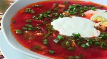 Зеленый борщ с томатом рецепт